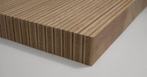 Ribbon Grain Plywood